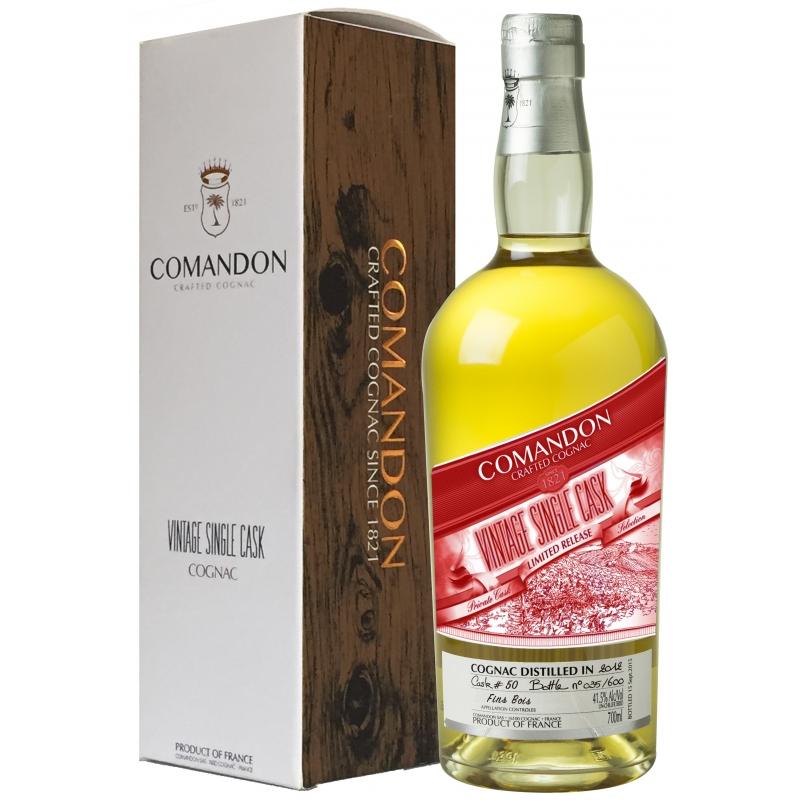 Vintage Single Cask 2012 Fins Bois Cognac Comandon