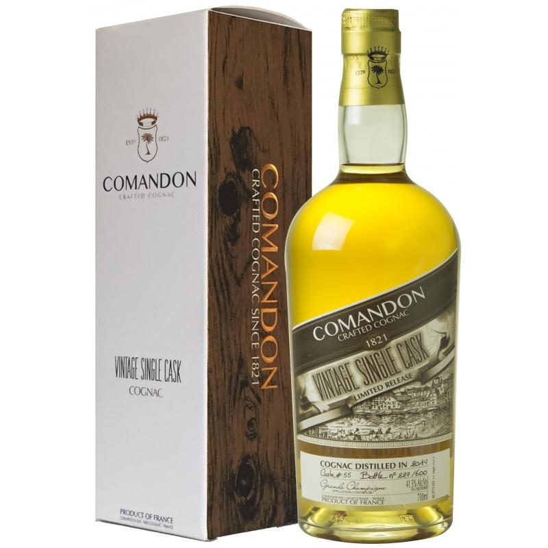 Vintage Single Cask 2012 Grande Champagne Comandon
